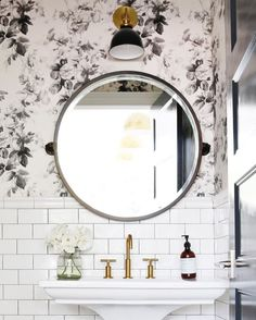 Small powder room wi