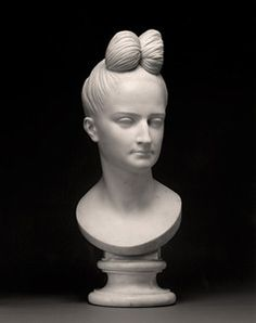 In 1831, d'Angers carved this marble bust of Ann Buchan Robinson, wife of Captain Henry Robinson and one of the few busts of women he did. I...