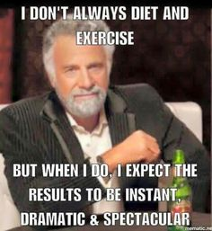 As I drink my Dos Equis...lmao!  Totally me!