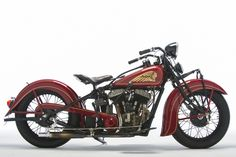 1935 Indian Chief- Steve McQueen owned.