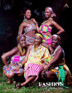 Get ready to be blown away with these latest kente styles with colourful Ghanaian kente … African Dresses For Women, African Attire, African Wear, African Love, African Beauty, African Style, African Royalty, Kente Cloth, Kente Styles