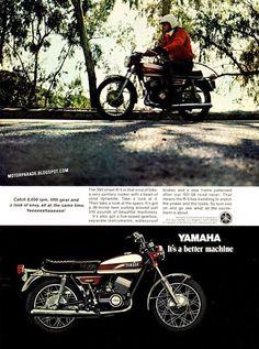 Yamaha, USA, 1970