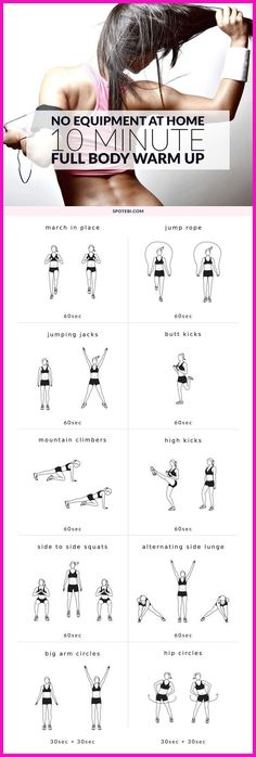 See more here ► Tags: how to lose abdominal fat, women fat loss, how to lose fat fast - Complete this 10 minute warm up routine to prepare your entire body for a workout. Warm up your muscles and joints, increas Fitness Workouts, Sport Fitness, Body Fitness, Workout Routines, Fitness Diet, Health Fitness, Fitness Style, Health Yoga, Fitness Equipment