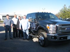 We have another beautiful black truck that was upgraded today! Here is Mr. Larry Morris with his BRAND NEW 2015 F-350! Mr. Morris traded in his 2012 F-350 with help from our own Louie LaBoy, and our wonderful Jennifer Hughes! Thank you for your business Mr. Morris, and thank you for staying in the Ford family! Enjoy your new ride!