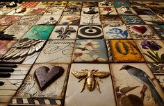 Sid Dickens | Decorative plaques, memory blocks, art tiles, perfect for home and commercial interiors.