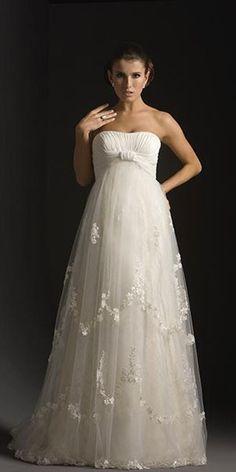 Maternity Wedding Dresses / Vestido de novia premamá