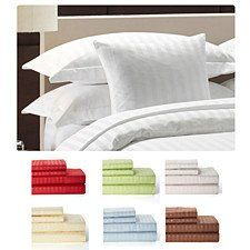 4 Piece Set: Super Soft 1800 Series Bamboo Fiber Bed Sheets | Bed Sheets,  Bedrooms And Searching