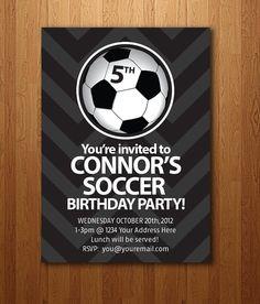 Football Party Invitations