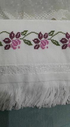Discover thousands of images about Seccadelerim Cross Stitch Rose, Cross Stitch Borders, Cross Stitch Charts, Cross Stitch Designs, Cross Stitch Embroidery, Hand Embroidery, Cross Stitch Patterns, Embroidery Designs, Crochet Patterns