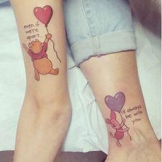 Freundschafts tattoos mann und frau