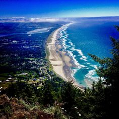 At the end of a hike in Manzanita, Oregon. Manzanita Oregon, Sea Photo, Landscape Pictures, Planet Earth, Beautiful Landscapes, Cool Photos, Beautiful Places, Hiking, Country Roads