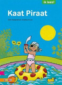 Kaat piraat (2013). Dirk Nielandt en Andrea Kruis - Boekenlijst jeugdboekenmaand 2017: 6-9 jaar