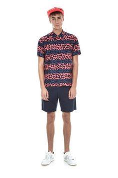 Marc by Marc Jacobs Cheetah Print Shirting