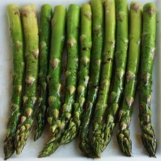 Roasted Asparagus With Balsalmic Browned Butter