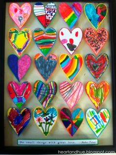 small things, great love. school auction class gift idea for kids ... LOVE LOVE LOVE! by C@rol