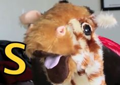 The letter s - learn along with Geraldine Giraffe!
