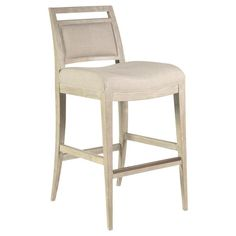 43 inches high x 20 inches wide x 24 inches deep White Wood Bar Stools, Wood Counter Stools, Backless Bar Stools, Lexington Home, Upholstered Bar Stools, Rustic Chic, Rustic Farmhouse, Weathered Wood, White Furniture