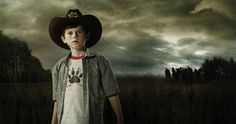 "chandler riggs walking dead photos | Chandler Riggs in ""The Walking Dead""."