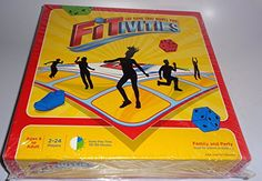 FITIVITIES - Kids and Family Fitness / Exercise Game, Small or Large Groups (Indoors or Outdoors) Fitivities http://www.amazon.com/dp/B00LFWLIJY/ref=cm_sw_r_pi_dp_JO04wb0PDGAMR