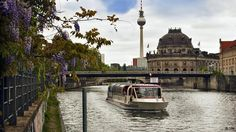 Travel by Spree to see Berlin from its more idyllic side :)