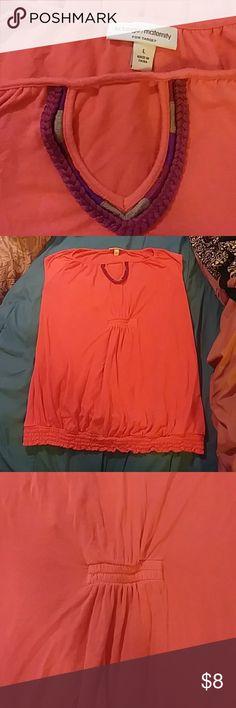 Maternity Shirt blouse Pregnancy closet staple Maternity shirt pullover  blouse Sleeveless Cute center elastic bunching c5579488f