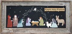 Oh Holy Night, done in wool