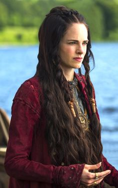 Princess Kwenthrith is the determined and seductive claimant to the Mercian crown