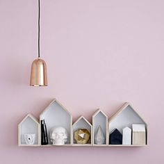 freja copper pendant light by bodie and fou | notonthehighstreet.com