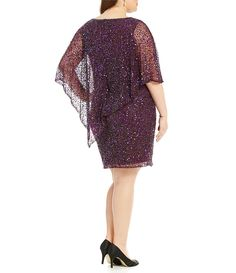Shop for Pisarro Nights Plus Beaded Boat Neck Caplet Dress at Dillards.com. Visit Dillards.com to find clothing, accessories, shoes, cosmetics & more. The Style of Your Life.