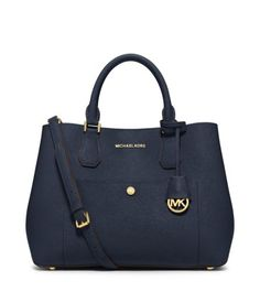 Greenwich Large Saffiano Leather Tote | Michael Kors
