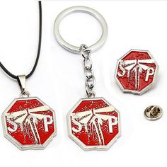 HSIC Game The Last of Us Part II 2 Firefly Logo Badges Keychain Metal Pins Collection Souvenir For Fans Under Wear petit q underwear commercial Mens Gear, Cool Gear, Metal Pins, Party Gifts, Cute Fashion, Charm Jewelry, Pin Collection, Valentine Gifts, Videogames
