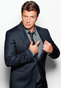 Nathan Fillion {Richard Castle -Castle tv series actor}