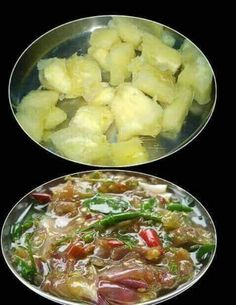 Kappayum Mulakum, cherished and regular staple since ages in Kerala Rice Recipes, Indian Food Recipes, Ethnic Recipes, Indian Foods, Low Calorie Smoothies, Kerala Food, South Indian Food, Proper Nutrition, Indian Dishes