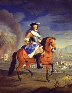 International Portrait Gallery: Retrato ecuestre del Rey Louis XIV de Francia