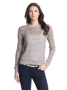 Designer Clothes, Shoes & Bags for Women Knitwear, Crew Neck, Brown Tops, Pullover, Knitting, Blouse, Costa, Knight, Zero