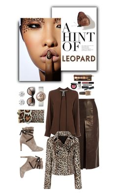 """""""A TOUCH OF LEOPARD @RAINIE-MINNIE"""" by shortyluv718 ❤ liked on Polyvore featuring Rachel Comey, Kenneth Jay Lane, Jimmy Choo, Marni, Exclusive for Intermix, Balenciaga, Bobbi Brown Cosmetics and OPI"""