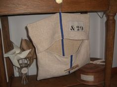 clothespins bag out of grain sac