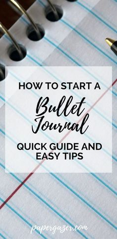 Always wanted to start a bullet journal but don't know where to start? Here's a great guide for beginners about the basics of bullet journaling. Lots of tips and spread ideas and inspiration. #bulletjournal #bujo