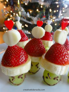 Grinch Party Poppers | All Recipes