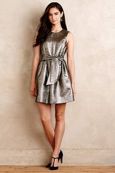 shimmered neve dress
