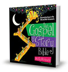 Help kids (and their parents) discover Jesus in the Old Testament and New Testament with this beautifully illustrated story Bible. #GospelStoryBible