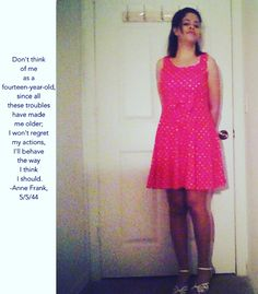 I hate when people are treating me like I am a child. But really I am an adult because since all these troubles that I had done and these made me older; I am behaving the way I should. Anne Frank Quotes, Hate, Child, Summer Dresses, People, Fashion, Moda, Boys, Kid