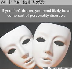 While interesting, not everyone remembers their dreams or that they dreamt...so not everyone will actually have a personality disorder simply if they state 'I don't dream'