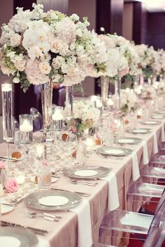 View entire slideshow: 18 Over-The-Top Glam Wedding Details that Wow on http://www.stylemepretty.com/collection/2109/
