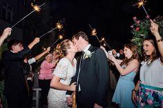 Sleepy Ridge Weddings & Events | Utah Venue | Sparkler Sendoff | Bride and Groom | Mariokay Photography