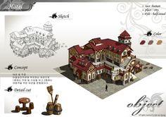 GGSCHOOL, Artist 김민경, Student Portfolio for game, 2D Scene Concept Art, www.ggschool.co.kr