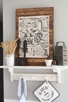 I love the fresh approach that Liz over at Love Grows Wild takes with her Fall Kitchen Vignette. Using vintage finds and a focal piece of art just comes together perfectly. I bet you have the makings of a beauty like this one in your own home. Drop by for a closer look. . . …