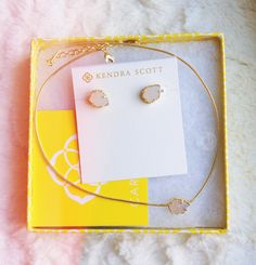 Kendra Scott. Earrings are perfect, maybe in coral or turquoise