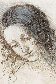 Da Vinci, al detalle Painting Corner, Painting & Drawing, Italian Renaissance Art, Detailed Paintings, Kuroo Tetsurou, Madonna, Rembrandt, Art Techniques, Art Sketches
