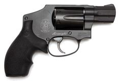 """One of THE BEST GUN FOR A WOMAN   The hammerless Smith & Wesson 432PD Magnum Airweight  6.38 length, 2"""" barrel length. 0.84 pounds  less than $500."""